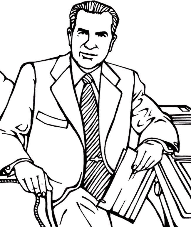 Richard Nixon In Color