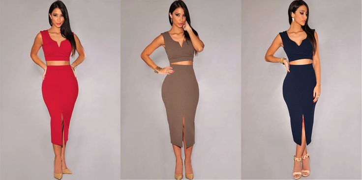 new-2015-bodycon-crop-top-and-pencil-skirt.jpg (1801×900)