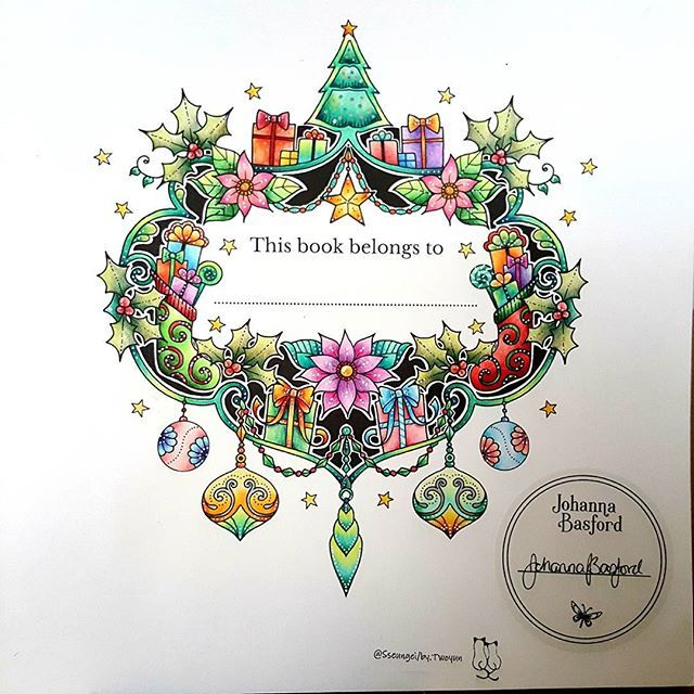 121 Best JBs Christmas Colouring Book Images On Pinterest