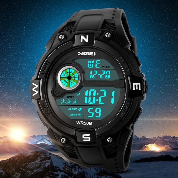 SKMEI 5ATM Water-resistant Sport Watch Men Watches Digital Sales Online - Tomtop.com