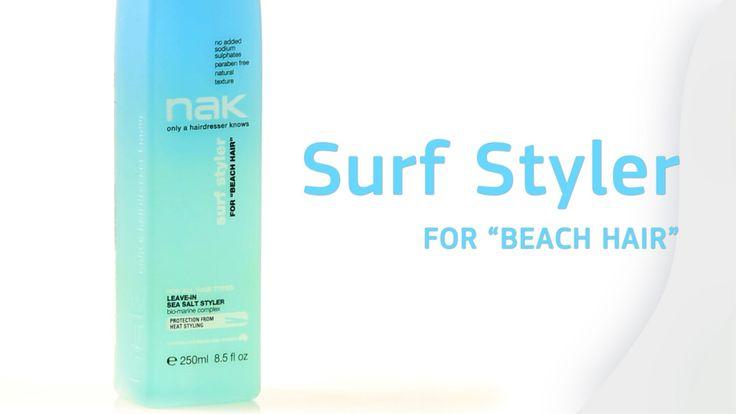 Surf Styler Sea Salt Spray #surf #salt #seasalt #texture #beachhair #hairstyles #hairtrends #hair #nakhair