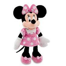 Oryginalny Minnie Mouse zabawki 48cm 19 '' Minnie Różowy Wypchane zwierzęta Pelucia Mickey Mouse dziewczyną Minnie pluszowe zabawki dla dzieci (Chiny (kontynentalne))