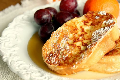 Rum and French Toast? Sounds like a good combination to me!