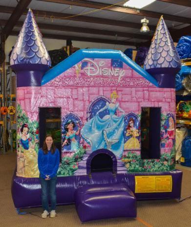 Disney Princess Jumpy Castle Bounce House - Affordable Moonwalk Rentals - Covington, Georgia