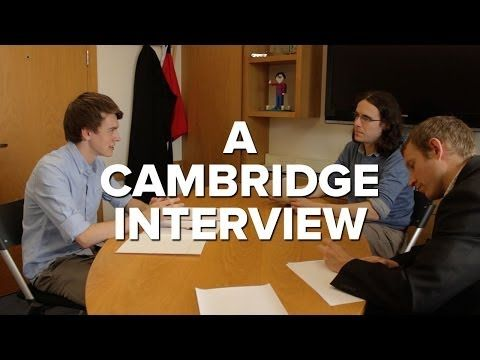 A Cambridge Interview: Queens' Computer Science - YouTube