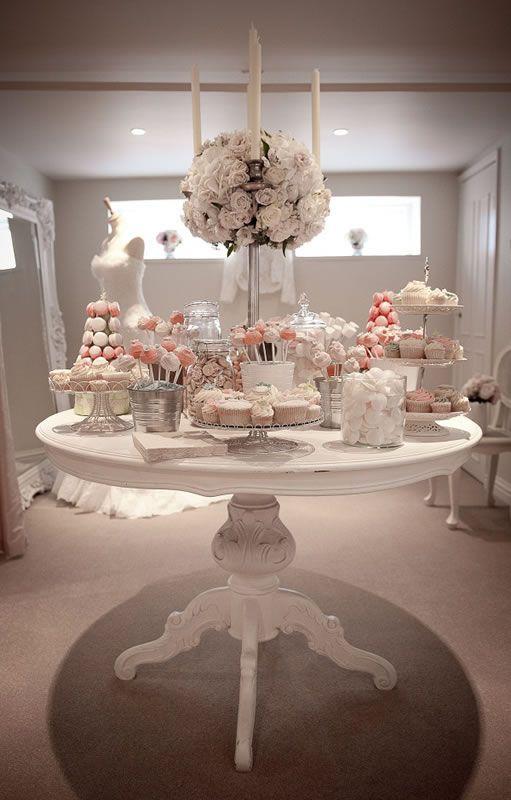 Mesas de postres para boda los mejores ejemplos buffet