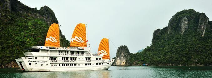 Paradise Cruise on Halong Bay