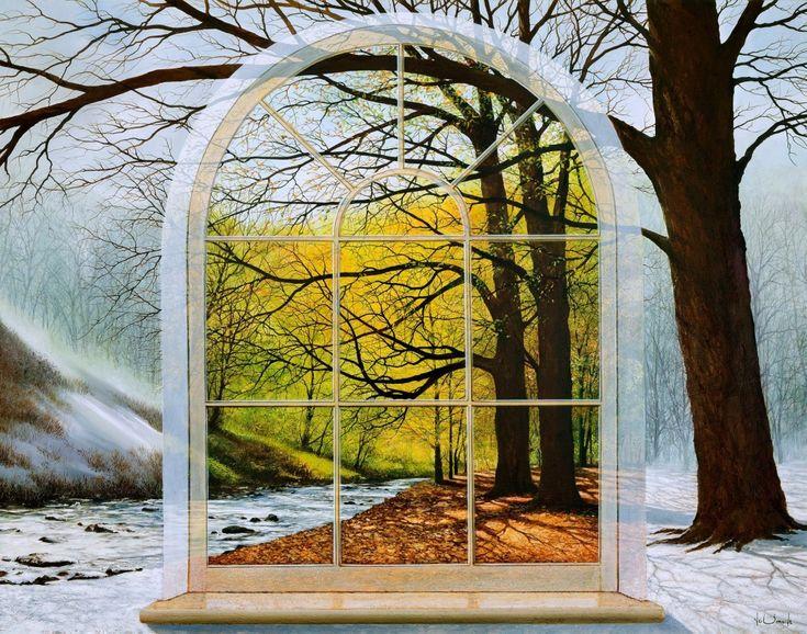 Иллюзии маслом. На картинах британского художника Ника Саймона все не так, как кажется на первый взгляд.