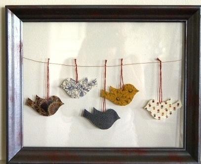 birds on a wireCrafts Ideas, Booya Birdie, Zoe Rohrer, Mon Tableau