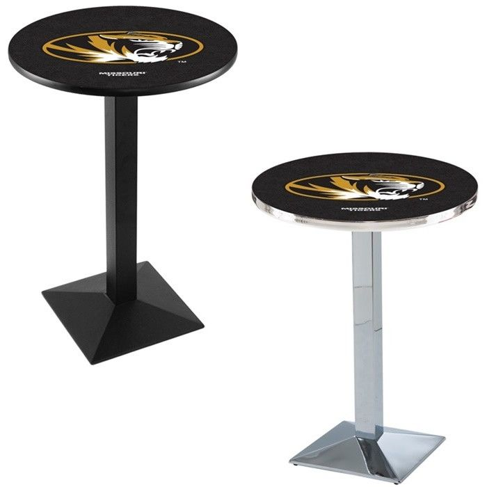 Missouri Tigers Square-Base Pub Table - SportsFansPlus