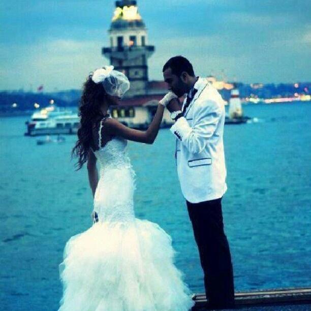 my wedding look :)
