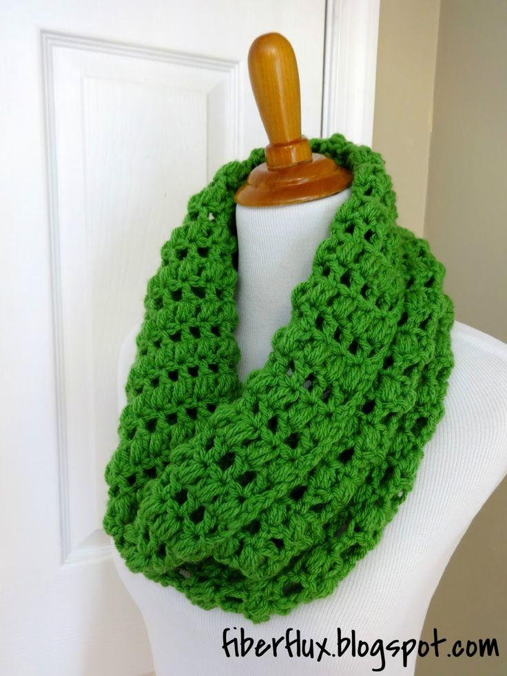 Fiber Flux...Adventures in Stitching: Free Crochet Pattern...Cilantro Cowl!