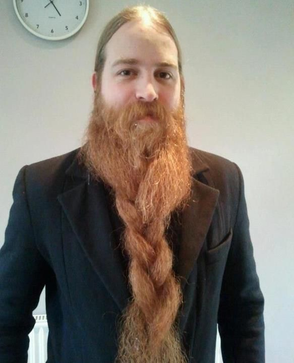 Back  gt  Gallery For  gt  Braided Goatee StylesViking Beard Braid