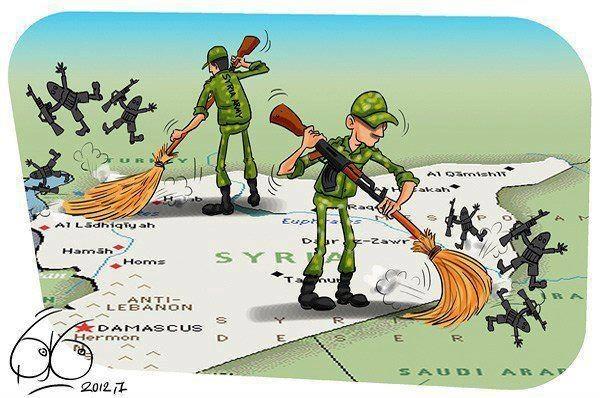 Libia S.O.S: Siria no se doblega. A los imperialistas solo les queda la humillación pestilente de sus criminales actos ...