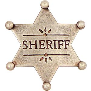 38 best sheriff police polica images on pinterest horses sheriff badge template for kids pronofoot35fo Images