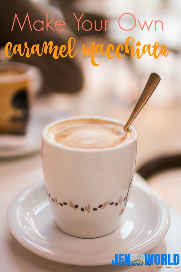 Homemade Caramel Macchiato using the Ninja Coffee Bar