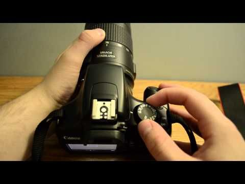 ▶ Canon EOS Rebel T3 Tutorial Part 1 of 2 - terrific overview of the buttons and how to use each one!
