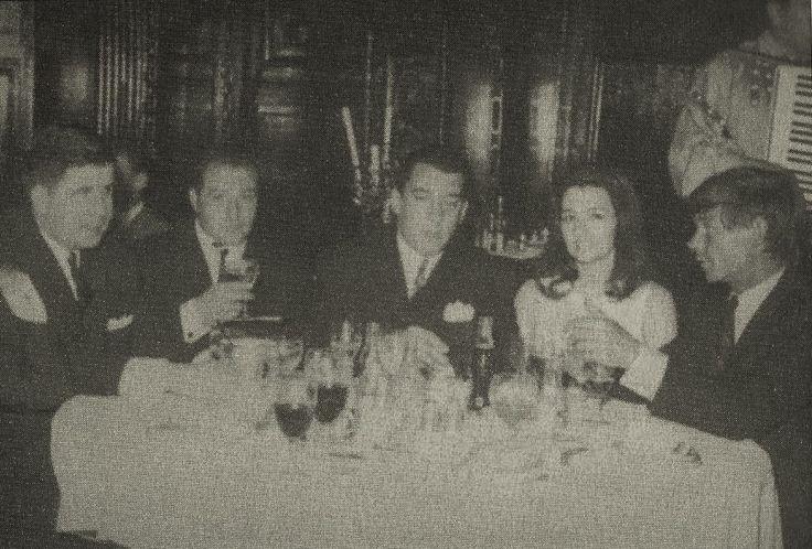 Freddie Foreman, Ronnie Kray, Christine Keeler and Leslie Holt..