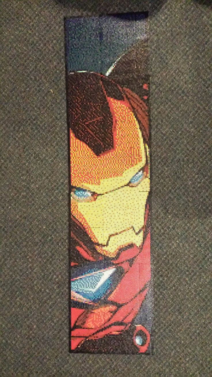 Iron Man Perler 19,044 beads by Spevial101.deviantart.com on @DeviantArt