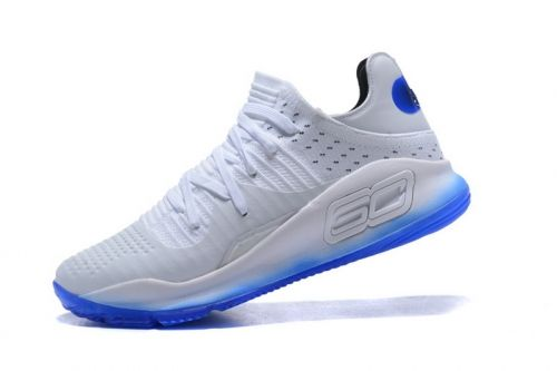 3baf24c0bd New Arrival Under Armour Curry 4 Low All-Star White Blue Mens Basketball  Shoes For