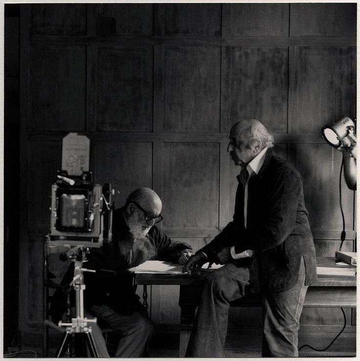 10 best pygmalion images on pinterest george bernard shaw book this timeless portrait of ansel adams and yousuf karsh was actually a one off snapshot by then young photographer gary faye captured during a workshop in fandeluxe Images