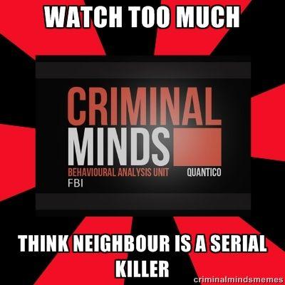 best 25 criminal minds memes ideas on pinterest spencer. Black Bedroom Furniture Sets. Home Design Ideas