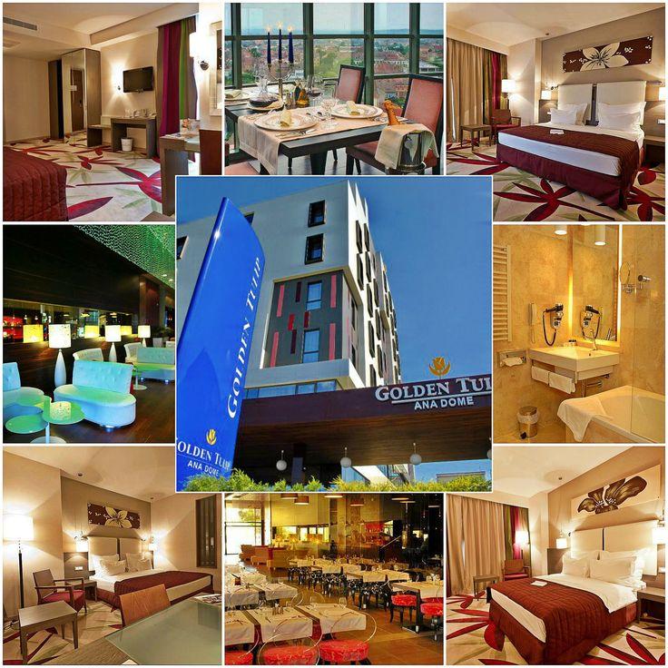 Situat la numai cateva minute de centrul orasului Cluj-Napoca, hotelul Golden Tulip Ana Dome va intampina cu o panorama urbana superba. Aproape de centrele comerciale, de afaceri si locurile de relaxare Golden Tulip Ana Dome este alegerea perfecta pentru un sejur relaxant cat si pentru o intalnire de afaceri.