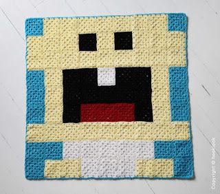 HOOKLOOK, boutique de créations tendances au crochet.: PIXEL PLAIDS