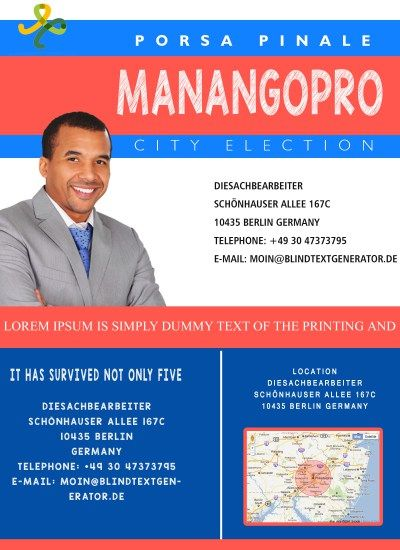Best Free Political Campaign Flyer Templates Images On