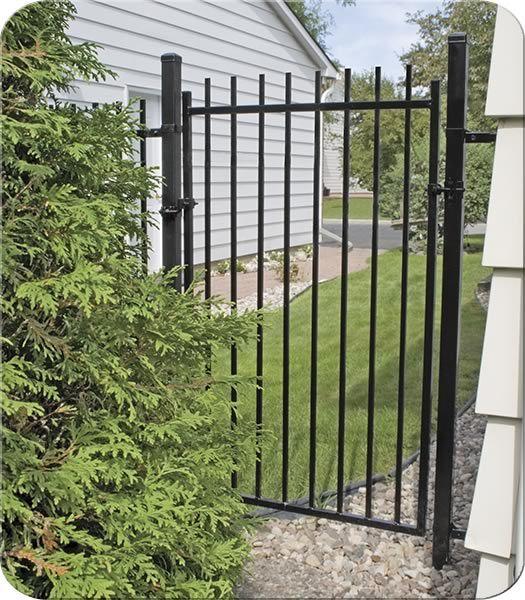 Staten Iron Walk Gate  Fence-All