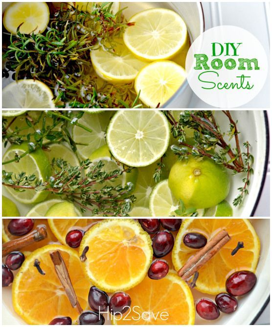 DIY Room Scents. This is neat. If I ever decide to give my scentsy a break.