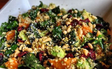 Loving Earth - Recipes - Kale Super Salad