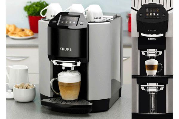 Take home fully-automated Krups Barista EA9000 Cappuccino Machine
