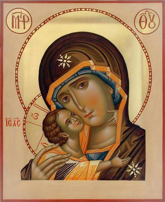 Icon of the Theotokos - Tender Mercy
