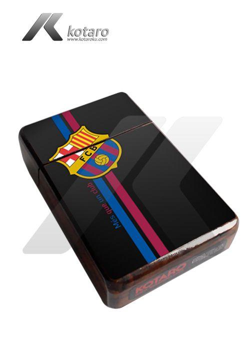 Sample Cigarette Case Wood design Barcelona FC Contact Person call : 0822 9880 3718 Blackberry messenger pin : 5355F9A0