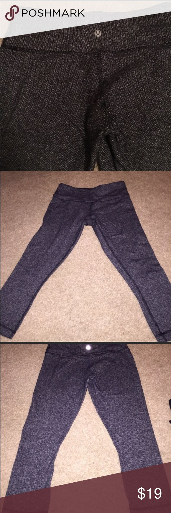 Lu lu lemon pants. Good condition,  no flaws Sold but sent back to me because they didn't fit. Let's try this again :) lululemon athletica Pants Leggings