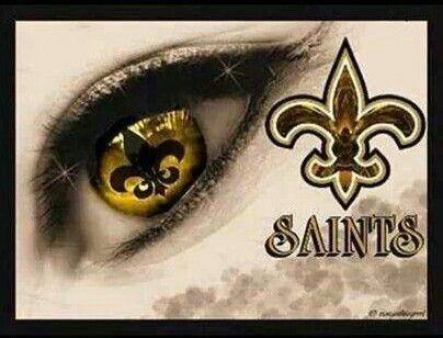 Eye of a Saints Fan