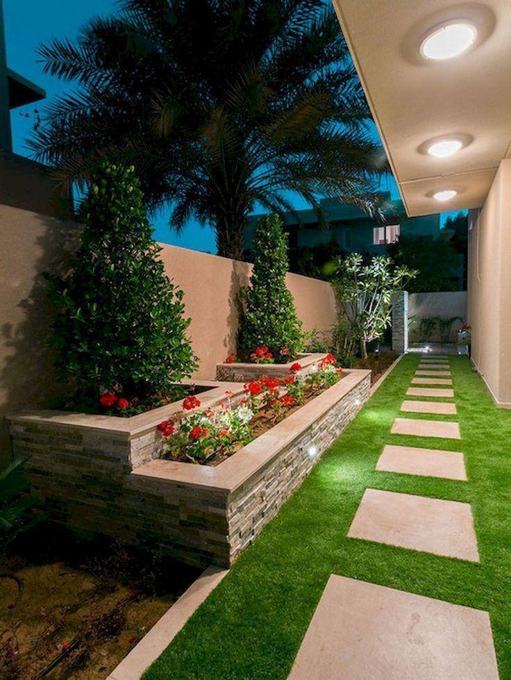 54 Wonderful Side Yard Garten Design Ideen Fur Den Sommer Garten Garten D Diy Backyard Landscaping Small Backyard Landscaping Side Yard Landscaping