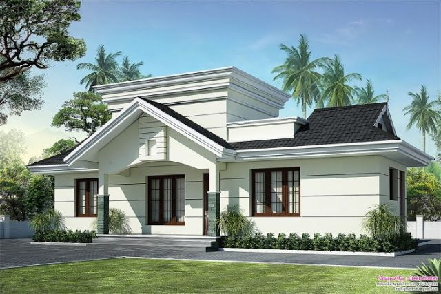 Kerala Budget Villa Free Plans Beautiful 2 Bedroom Villa Free Elevations Lovely Villa Suitable Kerala House Design House Construction Plan Modern House Plans