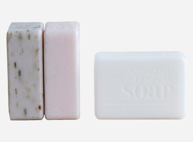 Ep0120 - Fransk sæbe, assorteret 3 dufte, 100 g