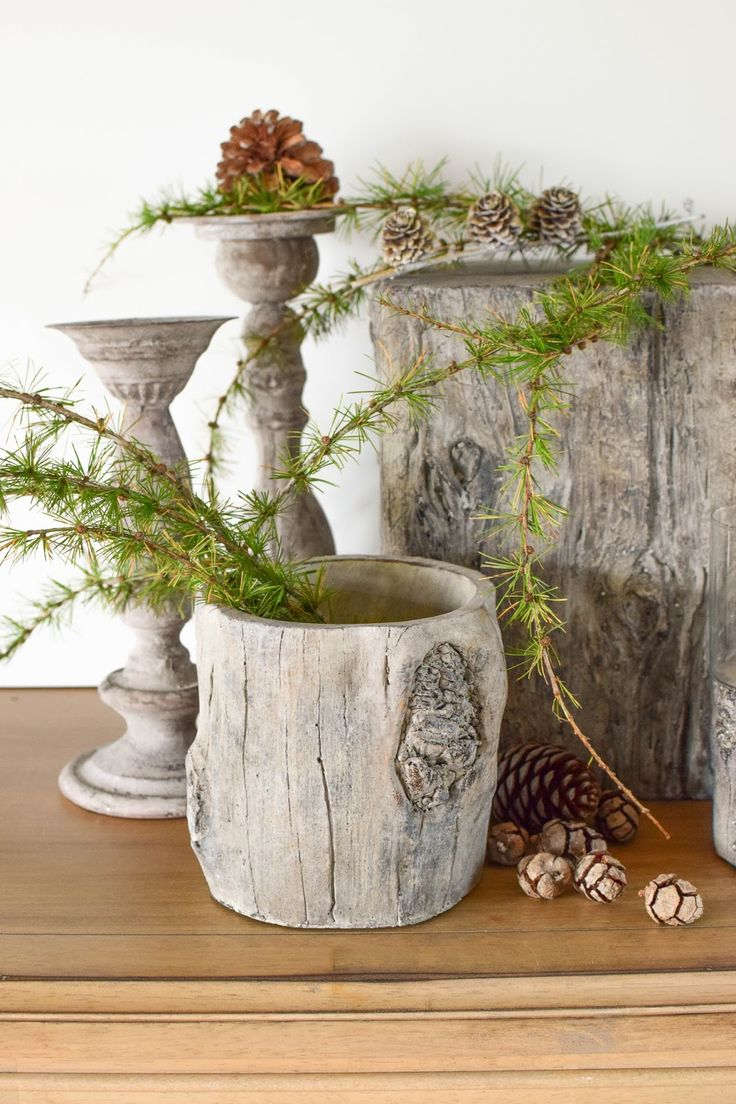 Best 25 weihnachtsdeko aus naturmaterialien ideas on for Holzschale dekorieren