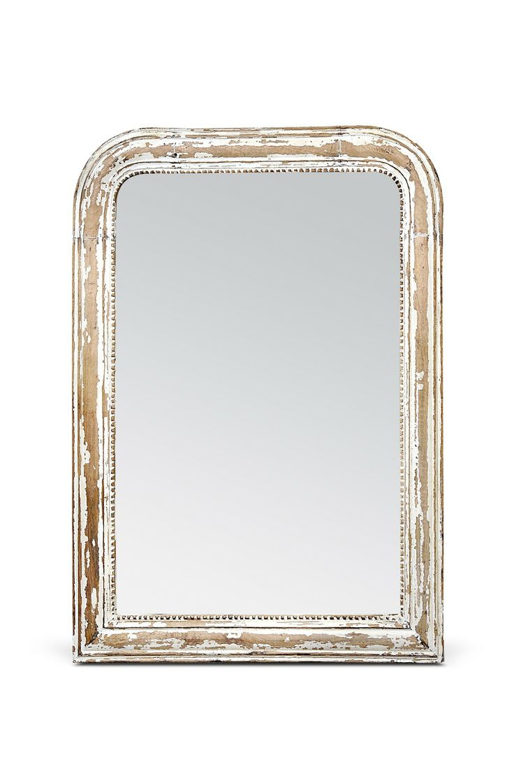 Antiqued mirror wall mirrors and mediterranean style mirrors - Bois Mirror Rustic Mirrorsantiqued