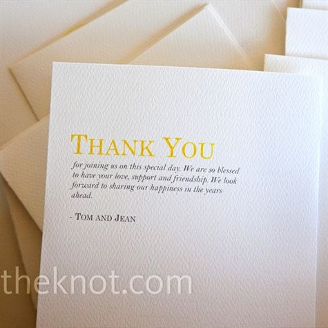 Best 25+ Wedding thank you wording ideas on Pinterest Thank you - thank you note