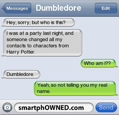 Harry potter txt. Love it!