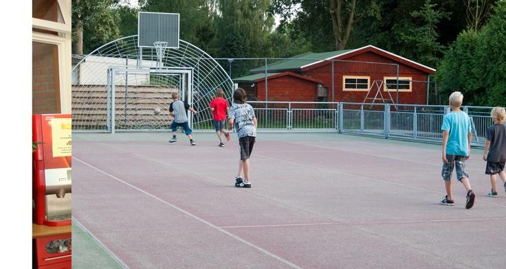Sportvoorzieningen op Camping Wedderbergen