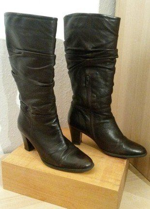 Kaufe meinen Artikel bei #Kleiderkreisel http://www.kleiderkreisel.de/damenschuhe/stiefel/138549909-gortz-damen-stiefel-dunkelbraun-hohe-ca-7-cm