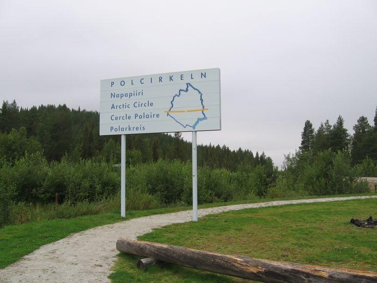 De Poolcirkel, net onder Jokkmokk