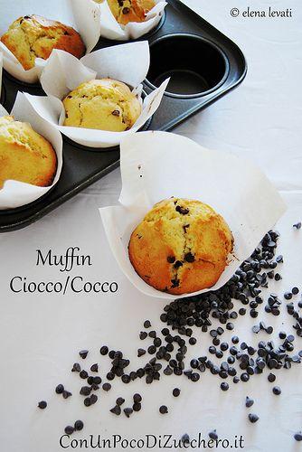 Muffin cocco e cioccolato: colazione o merenda?