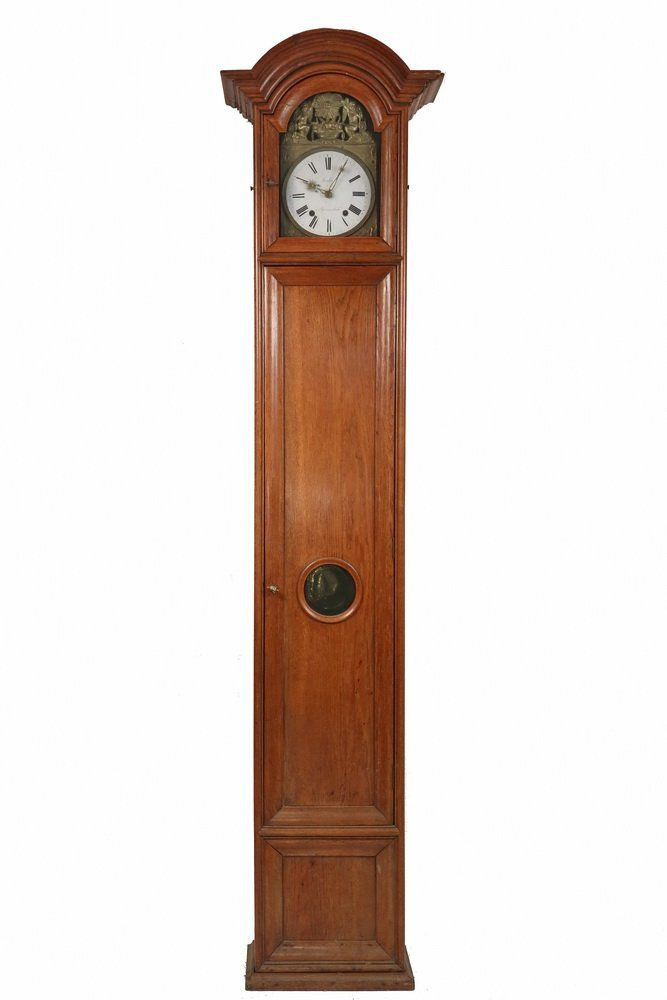 FRENCH PROVINCIAL TALL CLOCK - 19th c. Morbier Tall