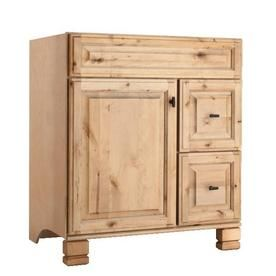 Pic On Style Selections Collingwood Natural Traditional Bathroom Vanity Common x Actual x for guest bathroom Lowes
